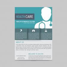 Modern Medical Brochure Template Vector Free Download