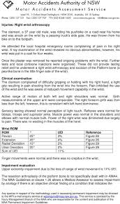 Ama Guides Upper Extremity Conversion Chart Upper Limb The Following Case Studies Relate To Injuries To