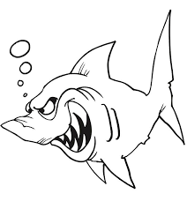 Small Picture Coloring Pages Of Sharks Corresponsablesco