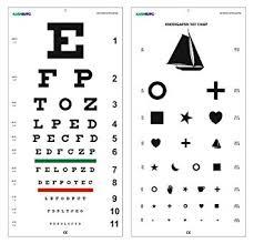 Snellen Chart Dimensions Amazon Com Snellen And Kindergarten Wall Eye Chart Size 22