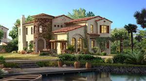 wonderful design ideas. Wonderful Spanish Style Home With Wide Garden Also Swimming Pool Design Ideas E