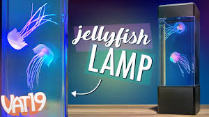 Jellyfish Lamp Realistic Jellyfish In A Calming Colorful Tank
