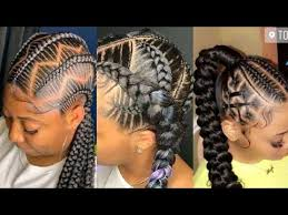 We have flattering looks for all hair types and lengths. 2020packing Gel Ghana Weaving Ponytail Styles For Ladies Vol 20 Youtube