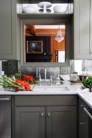 Mirrored Backsplash in the Kitchen - The Makerista