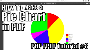 How To Make A Pie Chart In Pdf Php Fpdf Tutorial 8