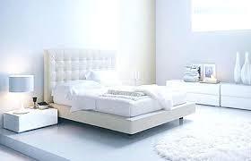 Contemporary White Bedroom Furniture Image Of Contemporary White ...