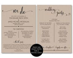 program template for wedding this infographic program is the latest thing for weddings wedding