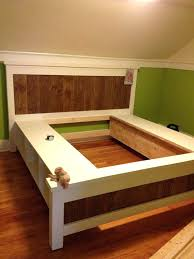 Diy king size beds Do It Yourself King Size Bed Platform Frame For King Size Bed Platform Bed With Storage Plans King Size King Size Bed Impexmarineco King Size Bed Platform Rustic King Bed Rustic King Size King Size