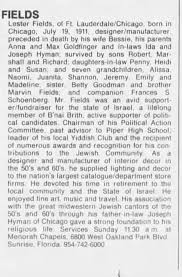 Obituary for Lester FIELDS - Newspapers.com