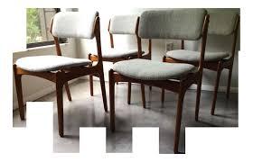 vine erik buck o d mobler danish dining chairs set 4 scheme danish modern dining