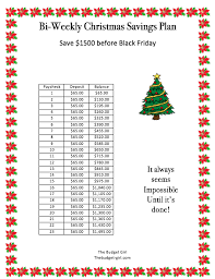 Weekly Saving Plan Chart Easy Weekly Savings Plan To Actually Save Money In 2019