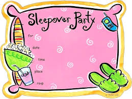 How To Make A Sleepover Invitation Pajama Party Invitation Wording Slumber Party Invitations Pajama