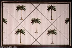 details about 3x5 area rug tropical palm tree fronds carpet with non skid backing new