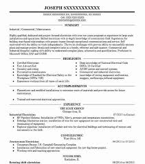 Sample Of Electrician Resumes Industrial Electrician Resume Sample Resumes Misc Livecareer