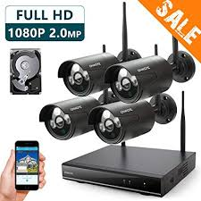Amazon ONWOTE 40P HD Wireless Security Camera System Outdoor Extraordinary Exterior Cameras Home Security Minimalist Collection