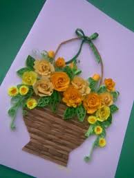 Paper Quilling Flower Baskets 20 Paper Quilling Flower Basket Wedding Pictures And Ideas On