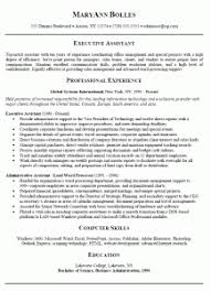 Administrative Assistant Resume Templates ...