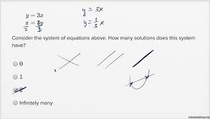 solving systems of linear equations basic example khan academy