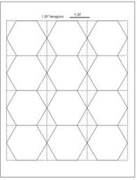 English Paper Piecing Hexagons Pattern...free download | All ... & My favorite free hexie templates in 5 sizes and tips for cutting hexagon  templates /Geta's Quilting Studio Adamdwight.com