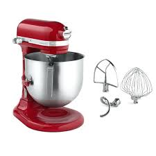 kitchen aid mixers refurbished refurbished 8 quart red variable sd commercial stand mixer with accessories 1 kitchen aid mixers