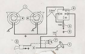 wiring diagram for a horn relay wiring image vw t4 horn wiring diagram jodebal com on wiring diagram for a horn relay