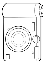 Coloring Page Camera Coloring Picture Camera Free Coloring Sheets