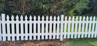 Painted Fences various picket fences expert fence in alexandria virginia 8346 by xevi.us