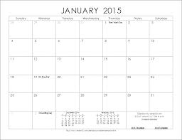 Printable Calendar 2015 Monthly Printable Calendar 2015 Word Under Fontanacountryinn Com