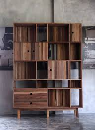wood modern furniture. Modern Furniture Made From A Mix Of Reclaimed Woods Wood