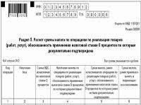 Налоговая декларация по НДС заполнение и сроки сдачи в году Варианты отчетности по НДС