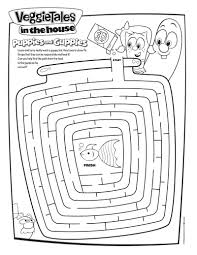 Veggietales Coloring Pages See More Veggie