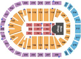 The Gwinnett Center Seating Chart Infinite Energy Center Interactive Seating Chart Seating Chart