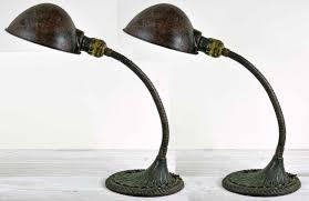 bankers desk lamp sydney vintage bankers lamp green glass shade