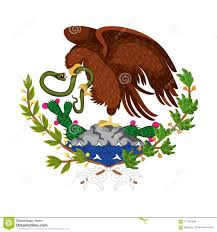 mexican flag eagle. Exellent Eagle Mexican Flag Emblem Of Colorful Silhouette Eagle With Snake In Peak Over  Rock And Plant Intended Flag Eagle