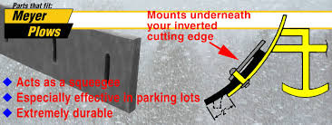 rubber cutting edges meyer snow plow parts meyer rubber cutting edges