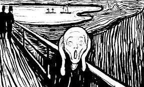 Resultado de imagen de el grito de MUnch imagenes
