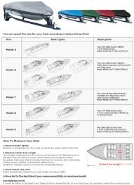 Boat To Motor Size Chart Details About Leader Accessories 300d Trailerable V Hull Tri Hull Boat Cover 14 16 Beam 90