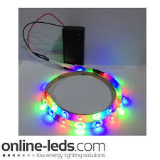 battery lighting solutions. 9V Battery Operated 500mm Waterproof Led Strip Colour Changing SMD3528 Picture 1 Lighting Solutions R