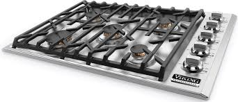 30 gas cooktop. Viking Professional 5 Series VGSU5305BSSNG - Angle View 30 Gas Cooktop H