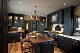 Kitchen design ideas with black cabinets - Video and Photos ...