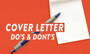 Dos And Don Ts Of Cover Letters Resume Writing Jobs Search Guide Career Advice Resume Tips