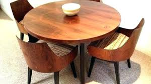 mid century modern dining table set round tables