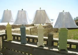 coastal beachy tropical and nautical table lamps