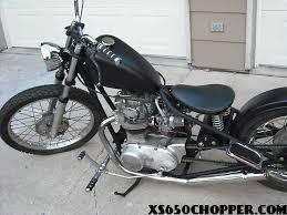 yamaha xs650 bobber chopper nitrous xs650 chopper