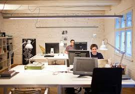 scandinavian office design. Scandinavian-office-space-industrial-style-lighting-decorations.jpg (600×419) Scandinavian Office Design N