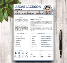 Stylish Resume Template for MS Word - Resumes