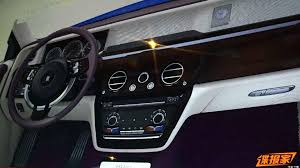 2018 rolls royce phantom interior. wonderful rolls the dashboard of the 2018 rollsroyce phantom can also be seen on a  likewise leaked interior picture beside fine leather real metal and noble woods  and rolls royce phantom