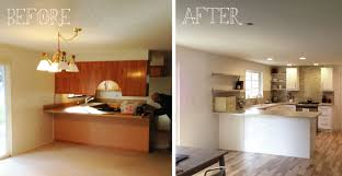 Kitchens Renovations Kitchen Renovation Before And After And For The Full Effect
