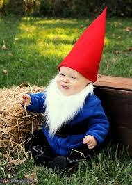 garden gnome couple costume