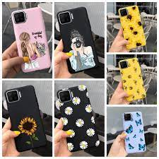 For Oppo A93 A73 Case Oppo A93 CPH2121 Soft Bumper Candy Painted Phone Case  For Oppo A73 Case A 73 93 OppoA93 OppoA73 Back Cover|Phone Case & Covers